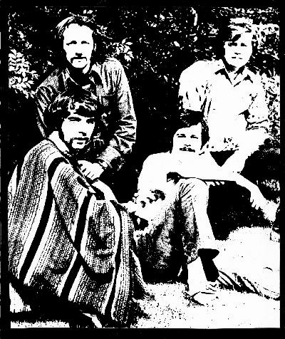 The Mantra lineup, from left to right: D'Arcy Draper, Pierre   Fauteux, Dick Kelder, Graeme Lennox.
