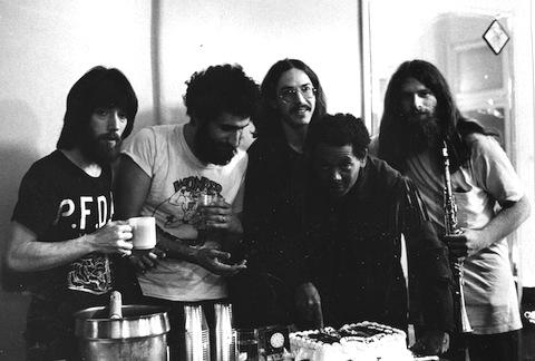 PFDA promo shot circle 1972. Mandel, Lagos, Conte, Harris, Resnick