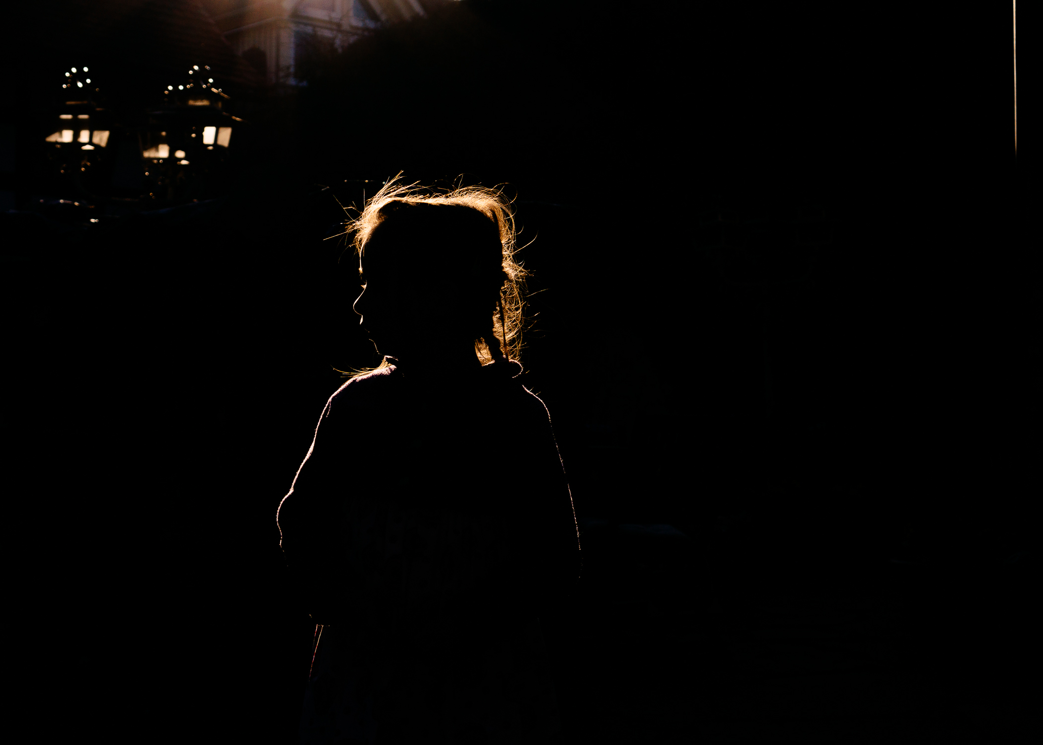 silhouette of liveness