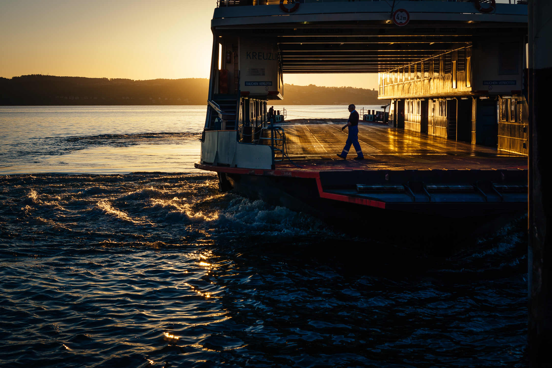 early ferry