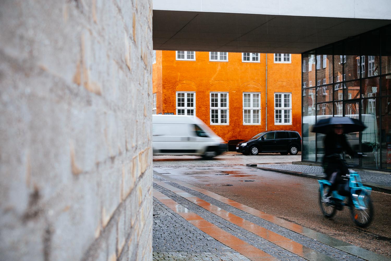 around the orange corner