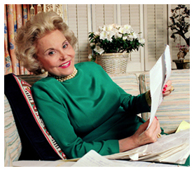 Ann Landers. Growing up, I read her column every day.