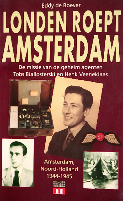 The cover of Eddy de Roever's book  London Calling Amsterdam