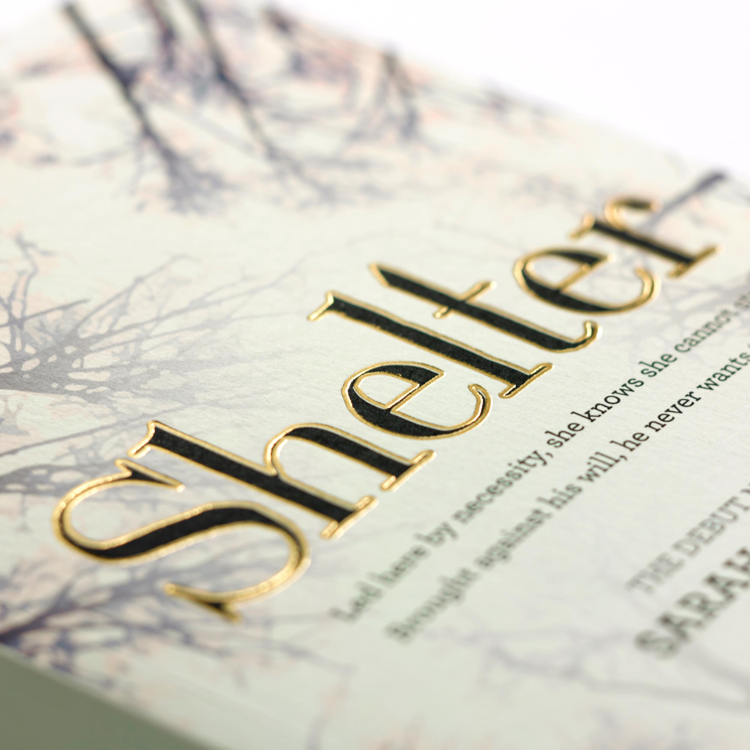 Shelter Book Cover Design