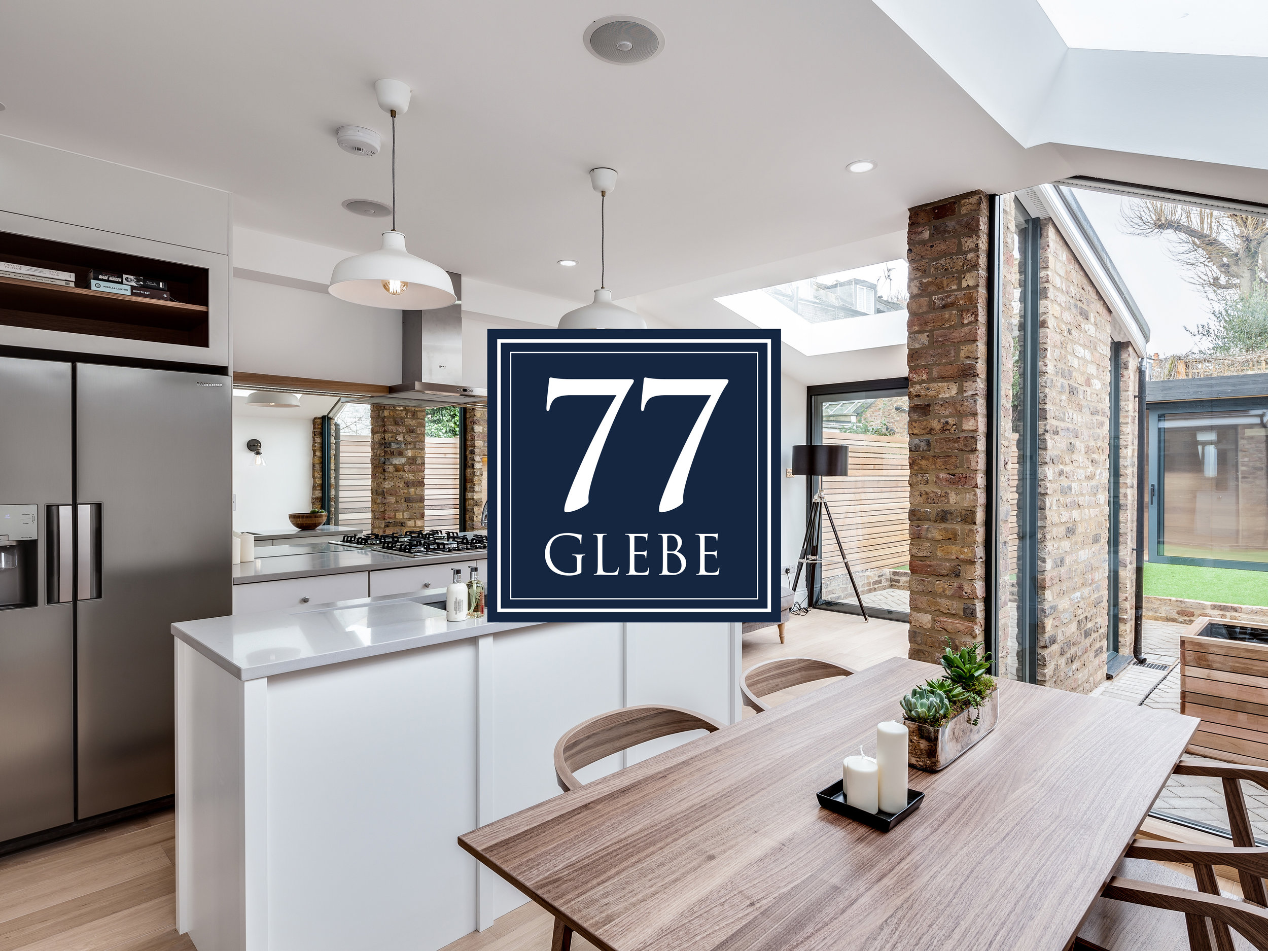 77 Glebe Street - Identity DesignPhotographyBook Design & PrintWebsite Design