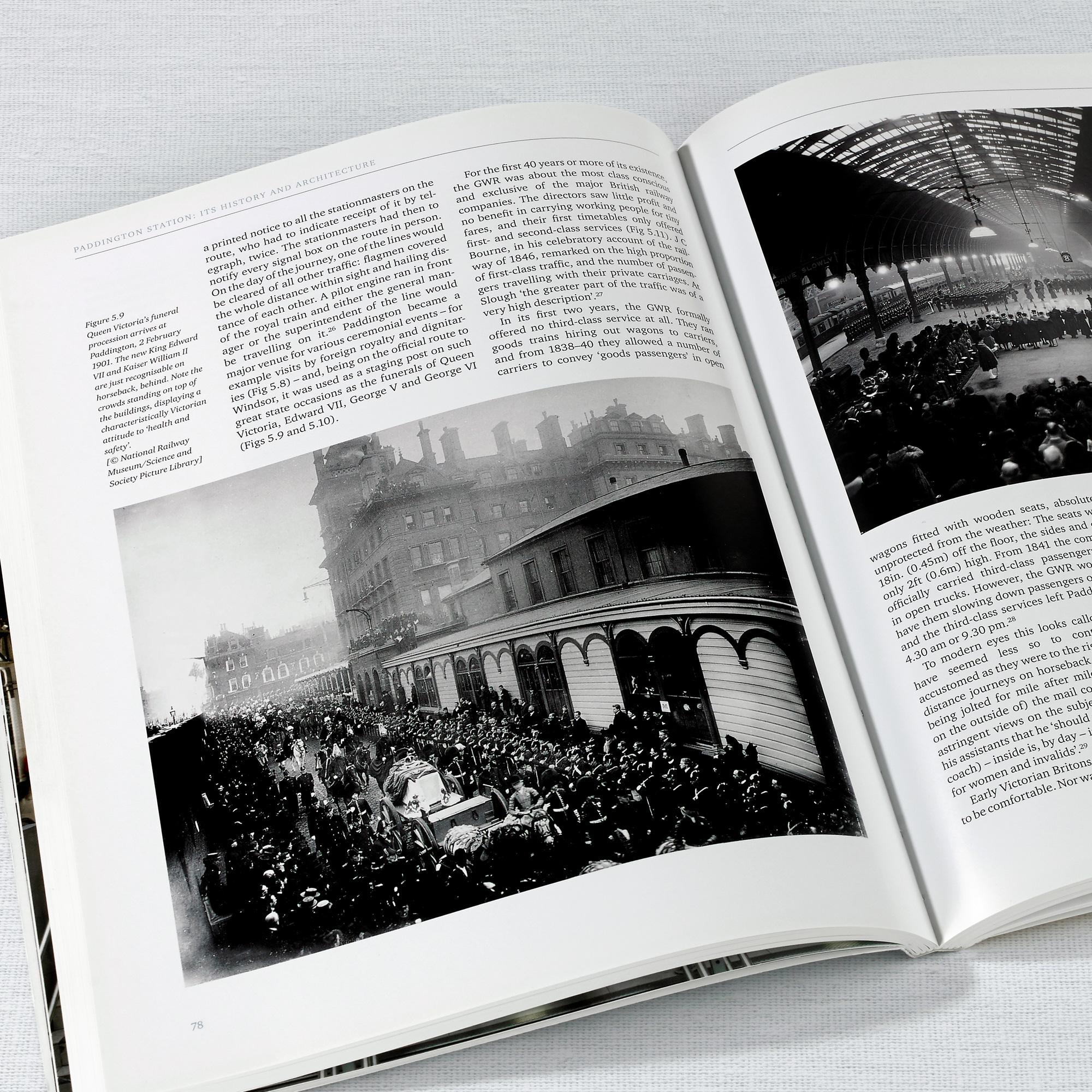 Paddington Station, English Heritage Book