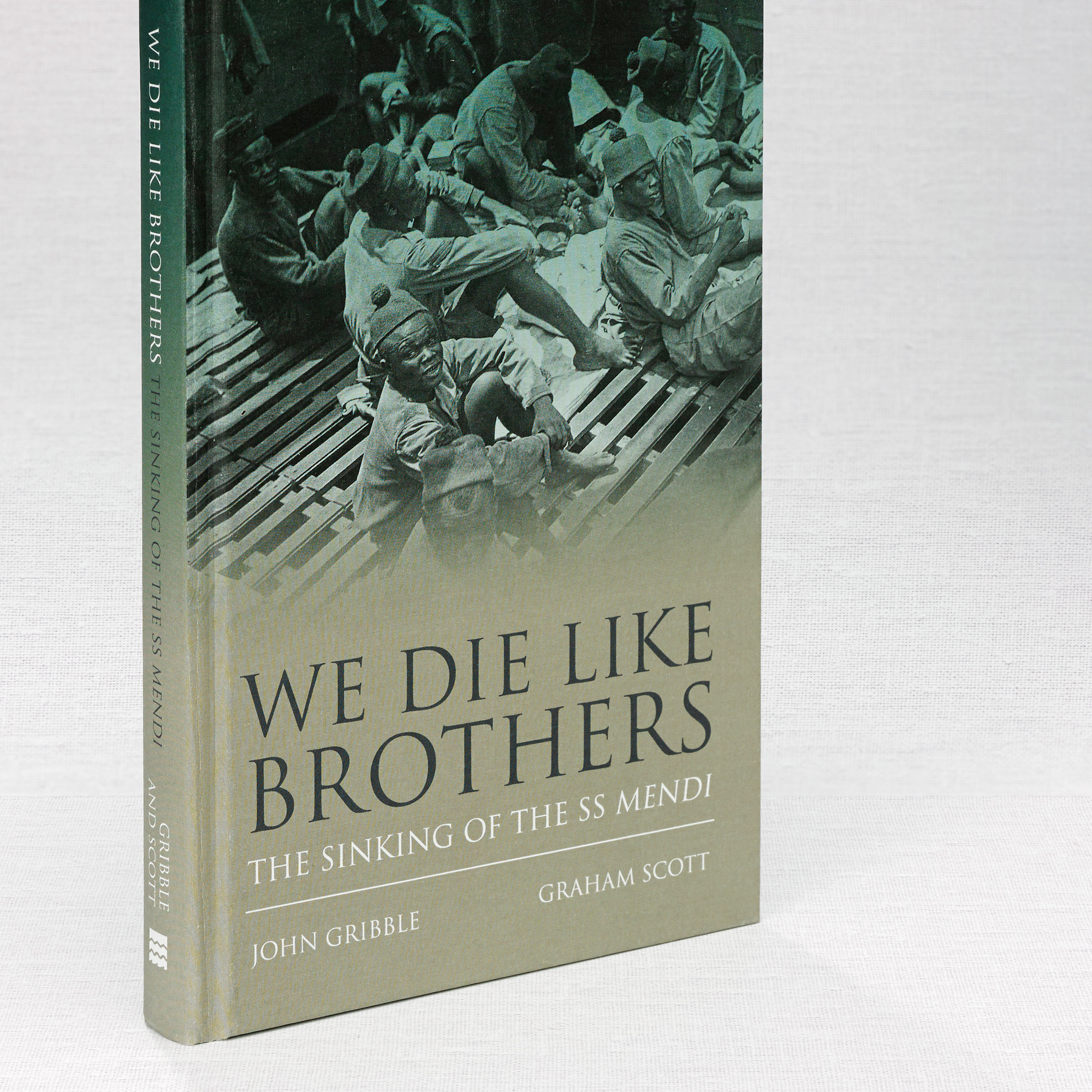We Die Like Brothers Book Design