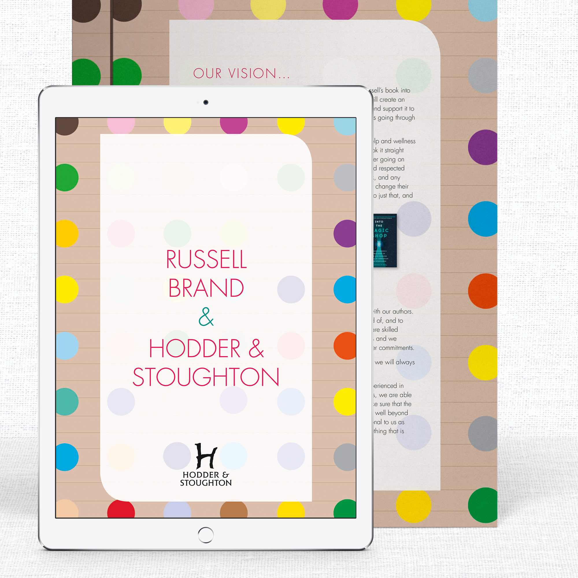 Pitch Deck for Hodder & Stoughton