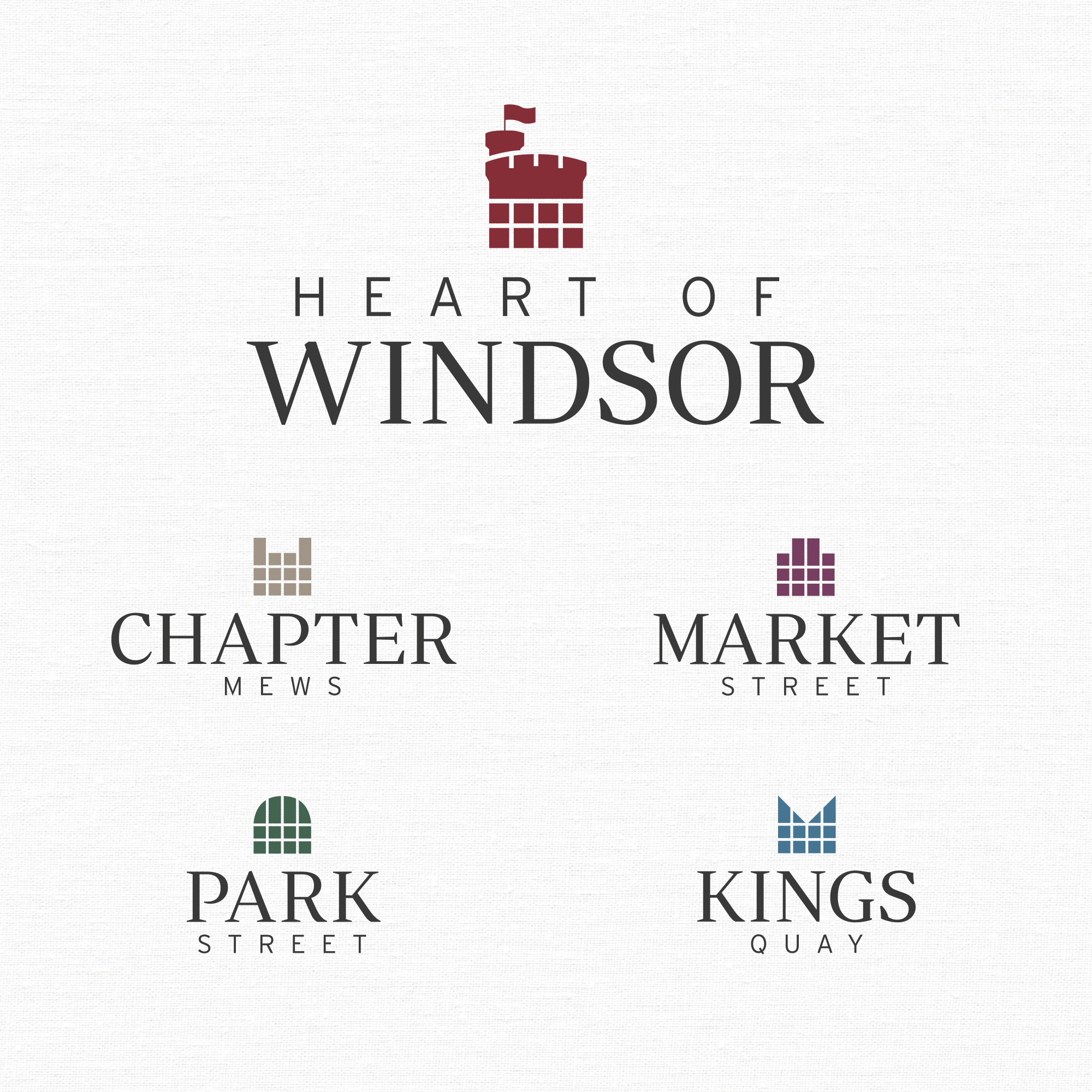 Heart of Windsor Logo Design