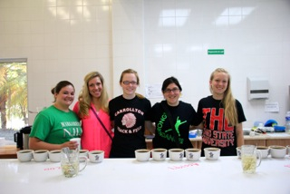 OSU Team Karli Lane, Amy Jo Frost, Megan Perry, Alexa Hirsch and Amy Bradford