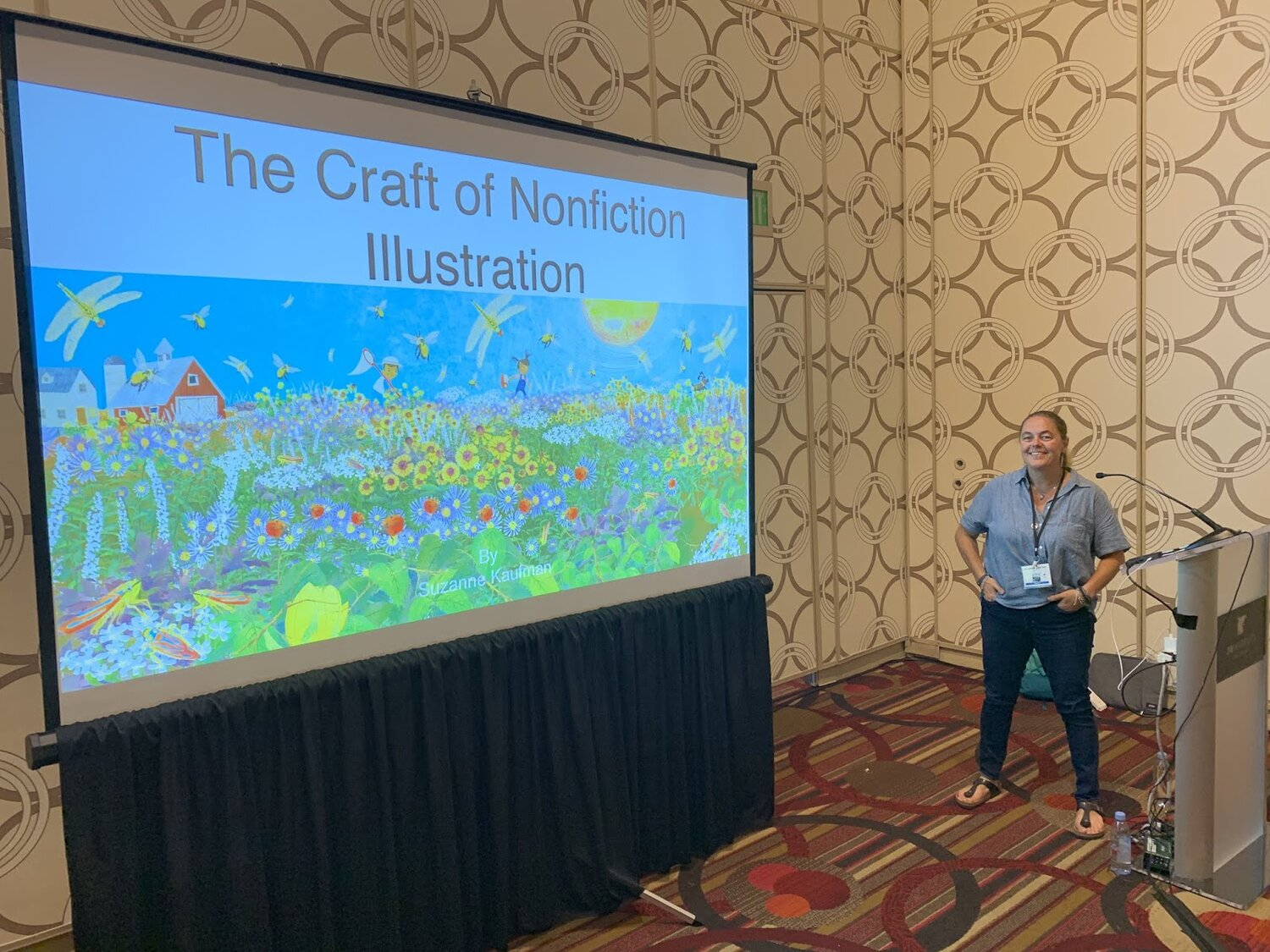 Click Here  to read about my Nonfiction Presentation at SCBWI LA CONFERENCE.