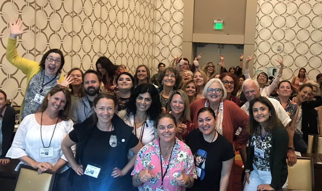 My wonderful class on pose design for Picture Books at SCBWI LA conference