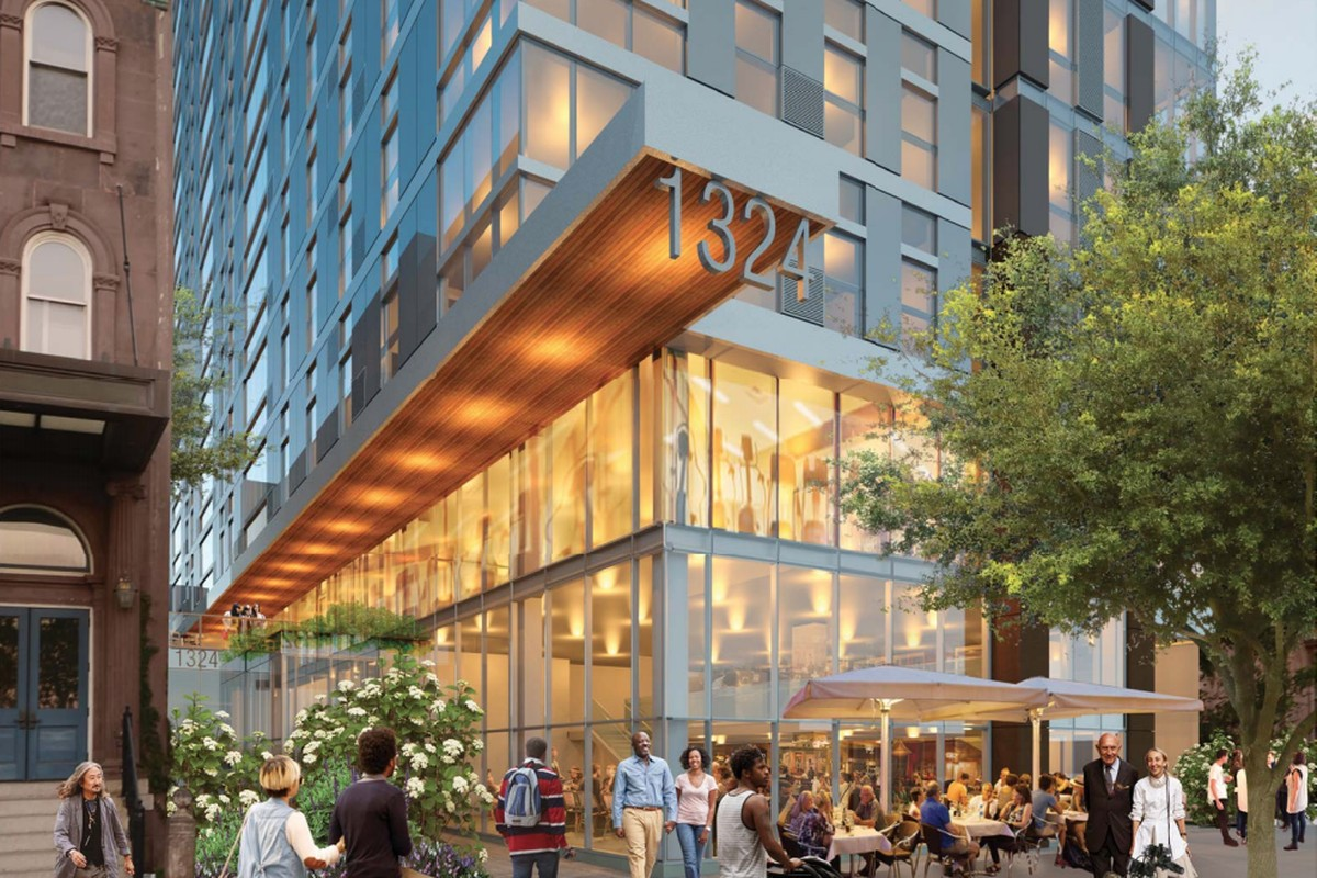 Cecil Baker+Partners renderings of The Nest which will bring 190 apartments to Temple