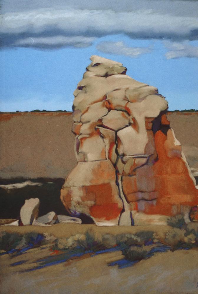 Acoma Rock Formation