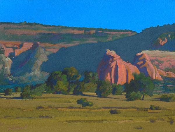 Red Rocks Near Gallup