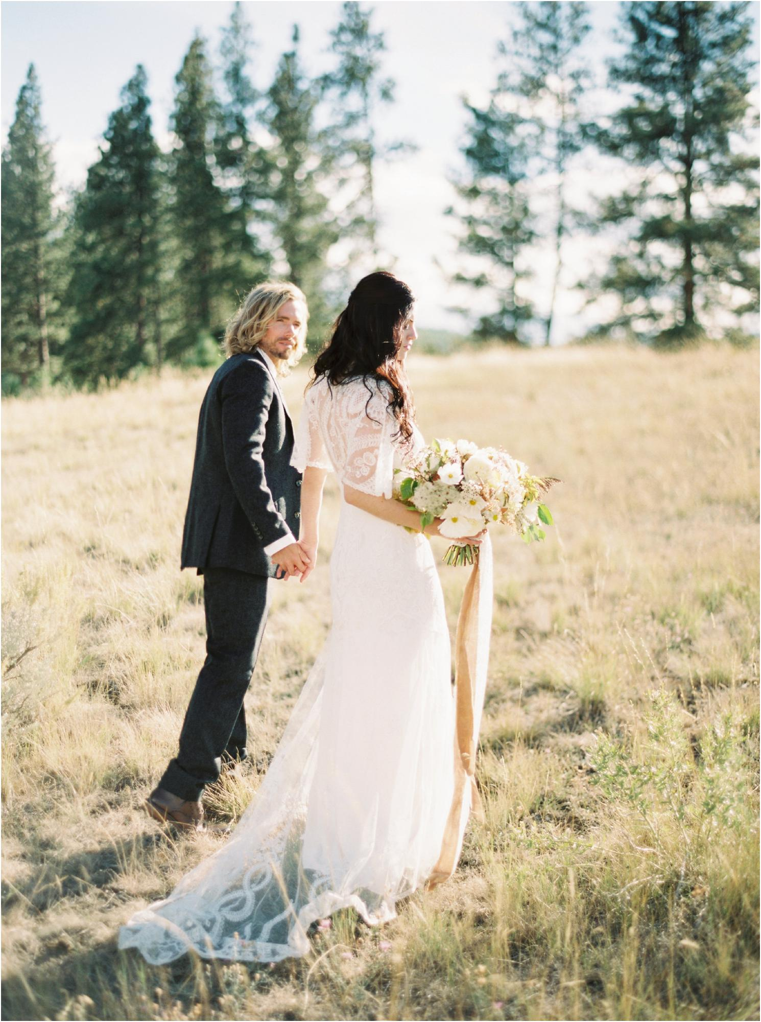 Montana Wedding at the Resort at Paws Up  Design and Florals by Greenwood Events http://www.greenwood.events/   ©Jeremiah & Rachel Photography