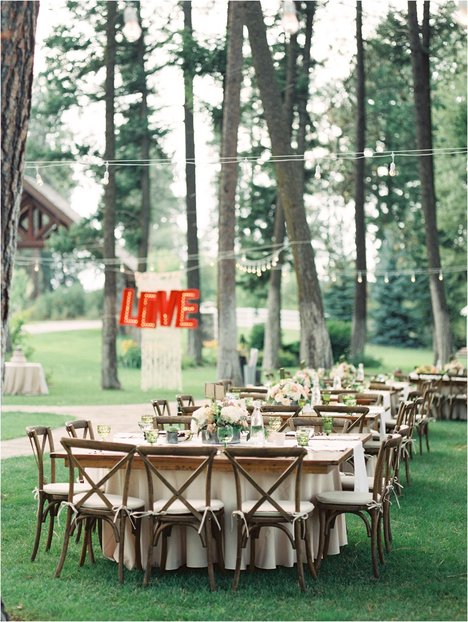 Montana Wedding at Glacier Mountain Lodge