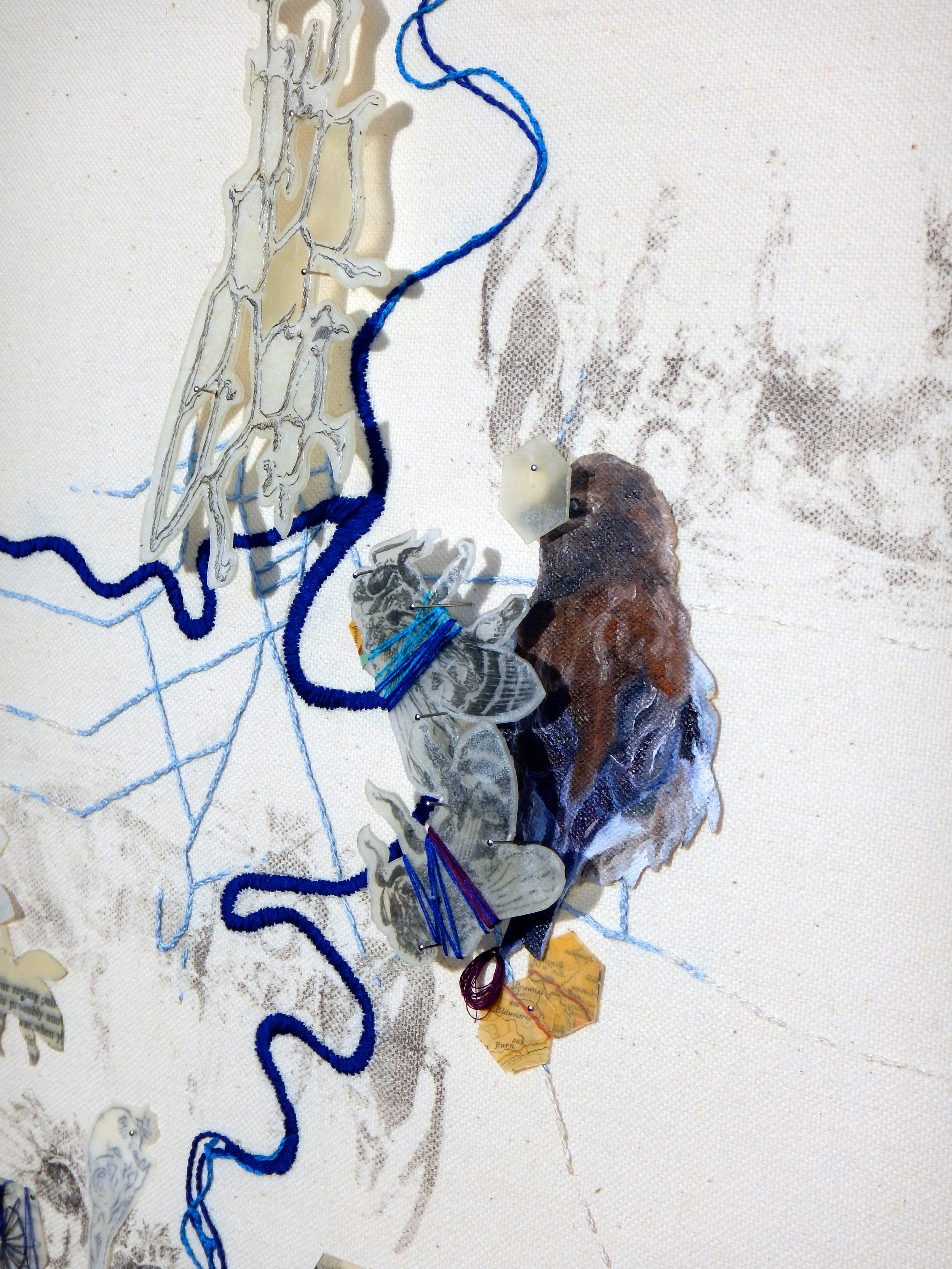 We Used to Live Here : Rivers (detail)