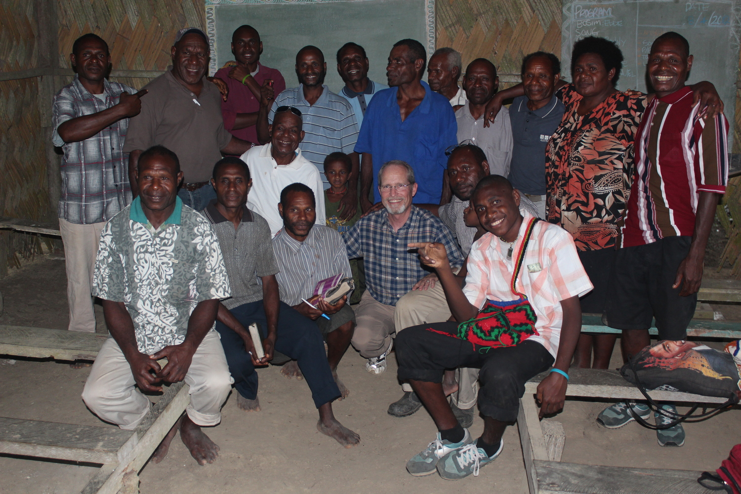 Training church leaders in Wewak, Papua New Guinea.