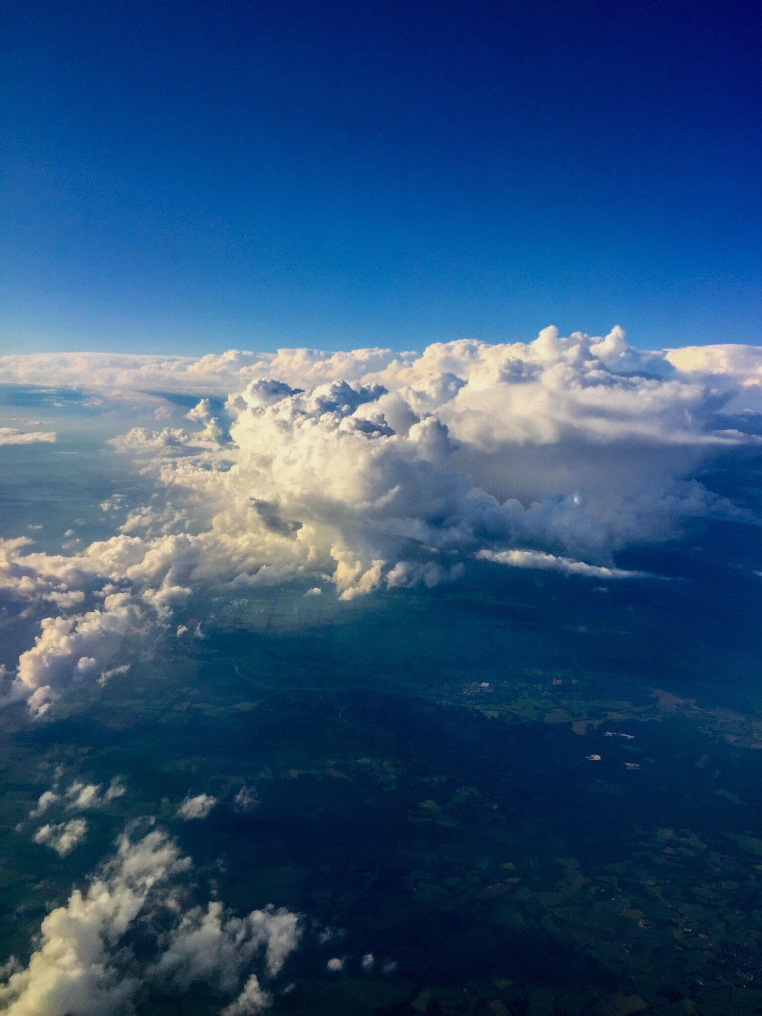 Dutch clouds...