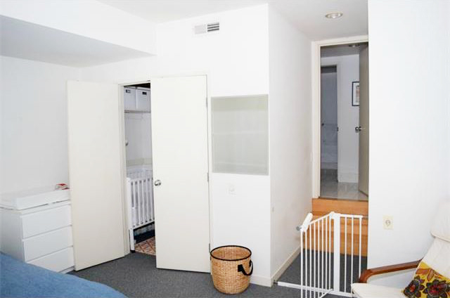 Closet and entry to Bedroom 1