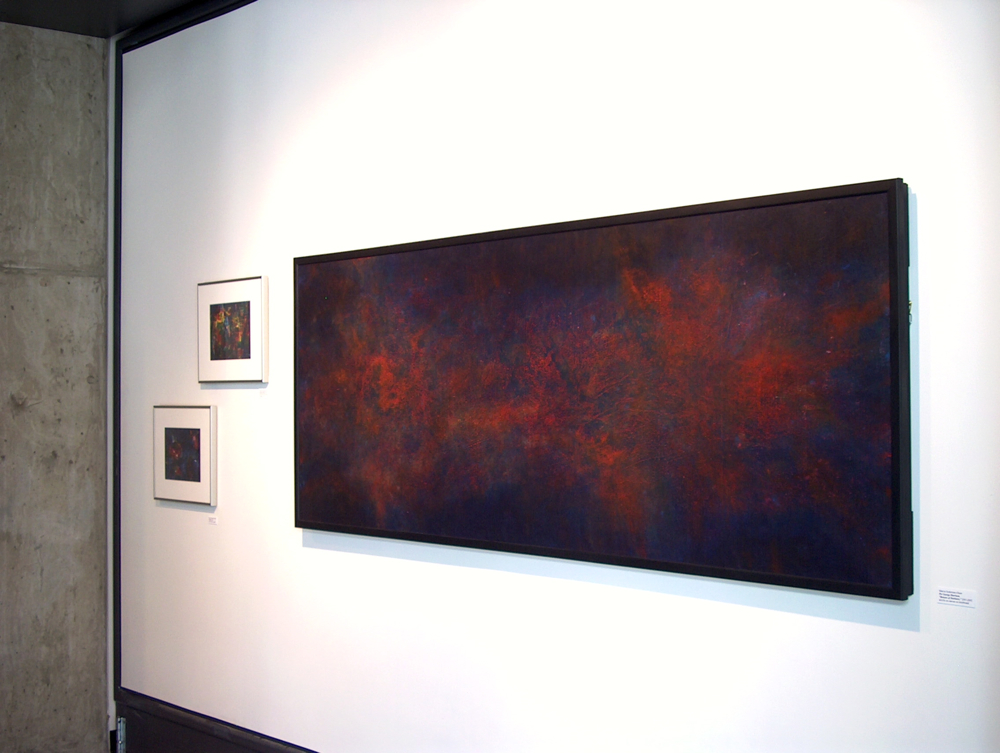 """Installation View, """"On Seeing Red and What You Can Do About It,"""" Regis Center for Art, University of Minnesota"""