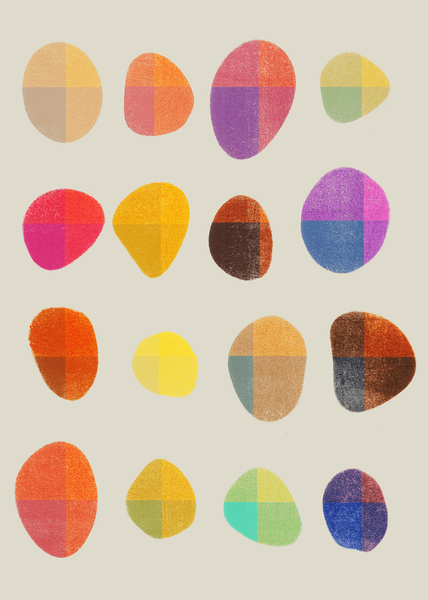 Painted Pebbles 4