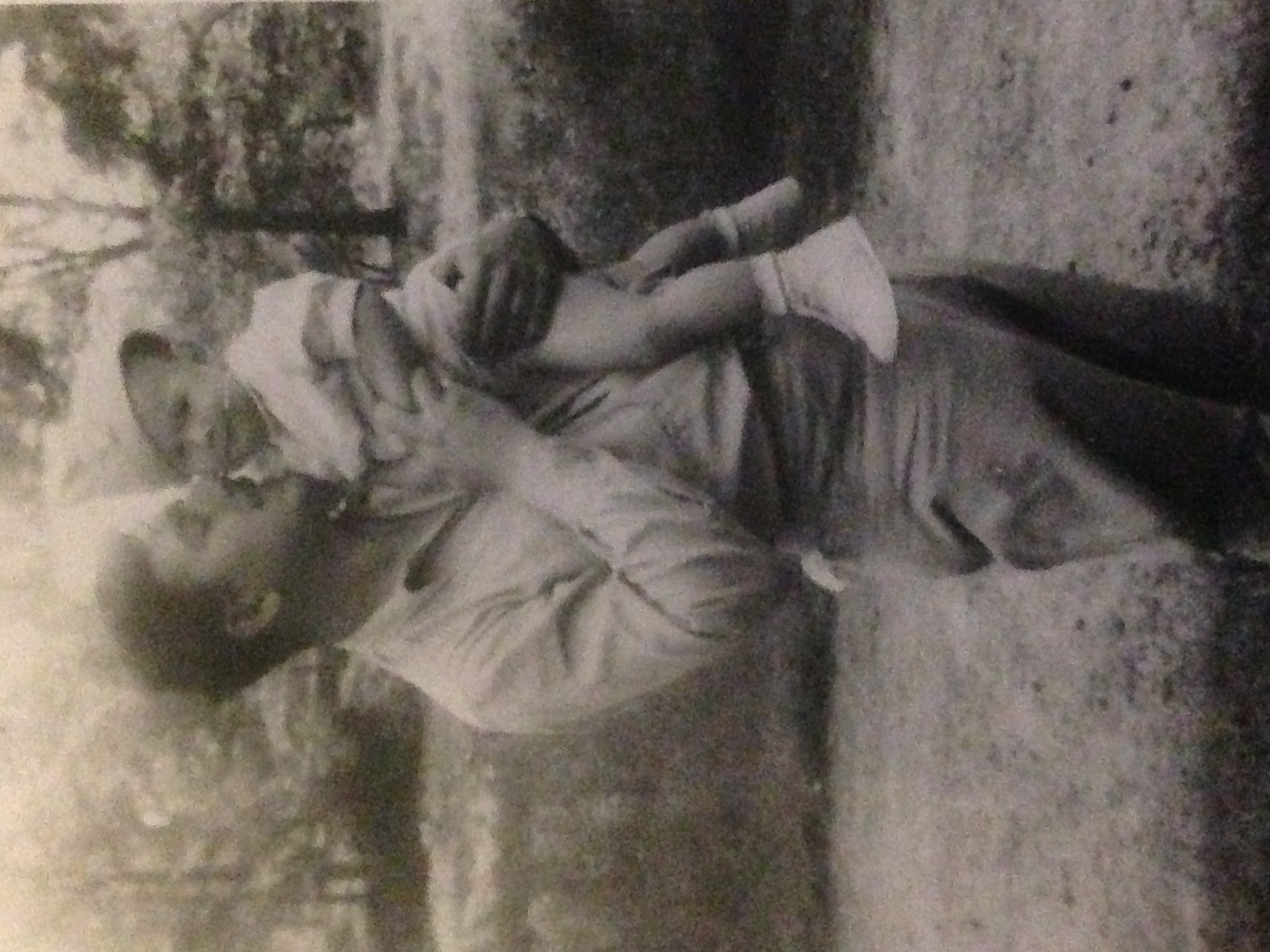 My father Bob and his father Lou.
