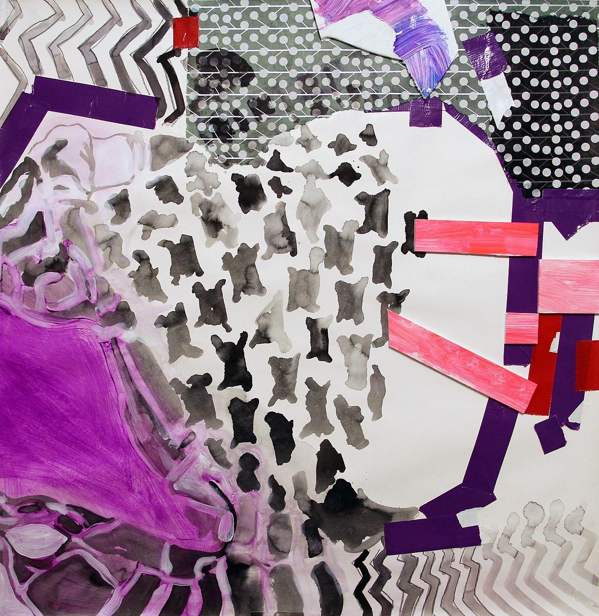 Abstract Study (Purple Pattern)