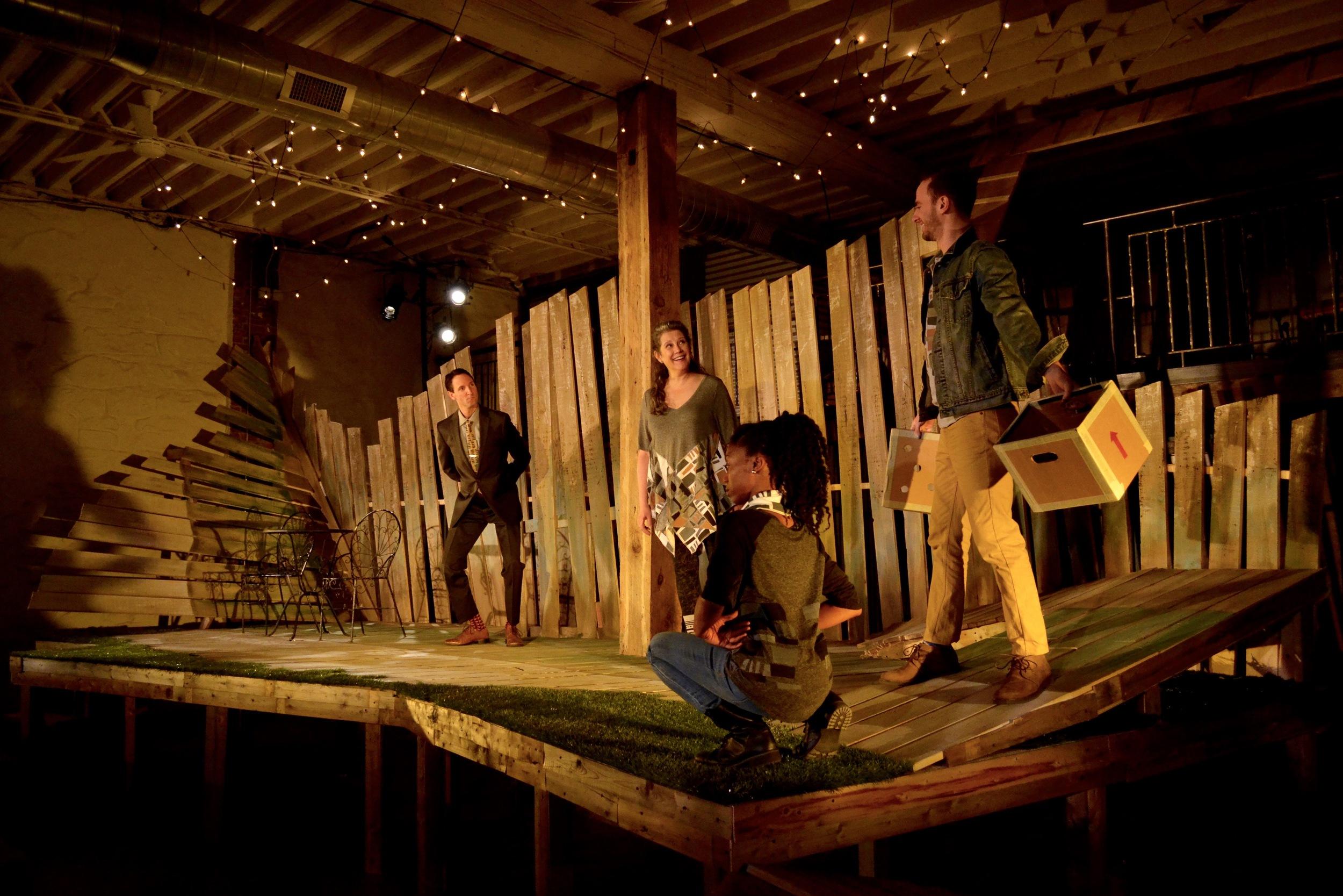 Director: Adil Mansoor Set: Britton Mauk Lighting: Pat Hayes Costumes: Jen Gooch Sound: David Bielewicz