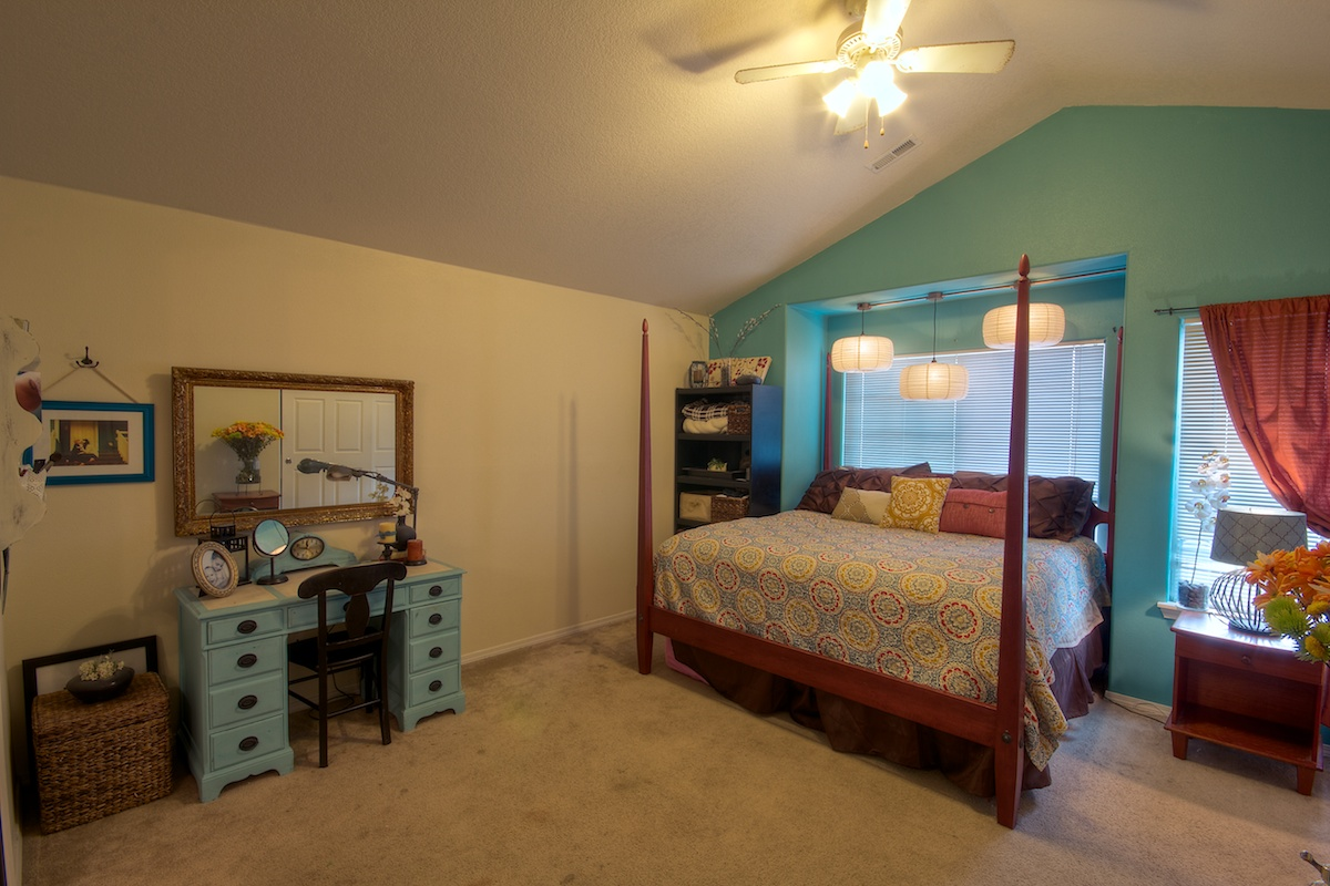 Master bedroom of a house for sale in Gresham, Oregon
