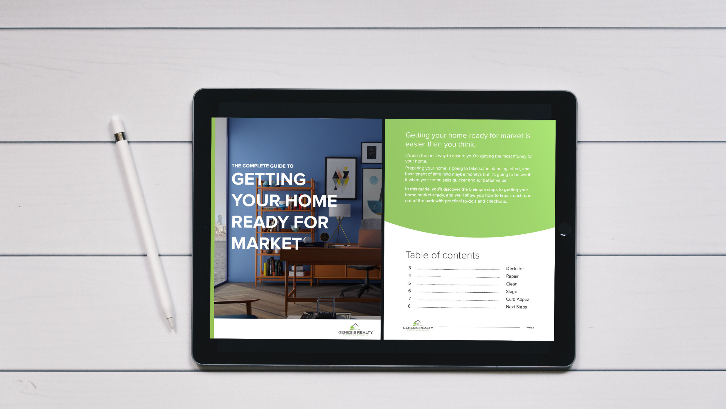 Selling your home, and need some more guidance? - Click here to download the guide 5 Steps to Getting Your Home Market Ready and learn more insights from agents who have sold hundreds of homes.