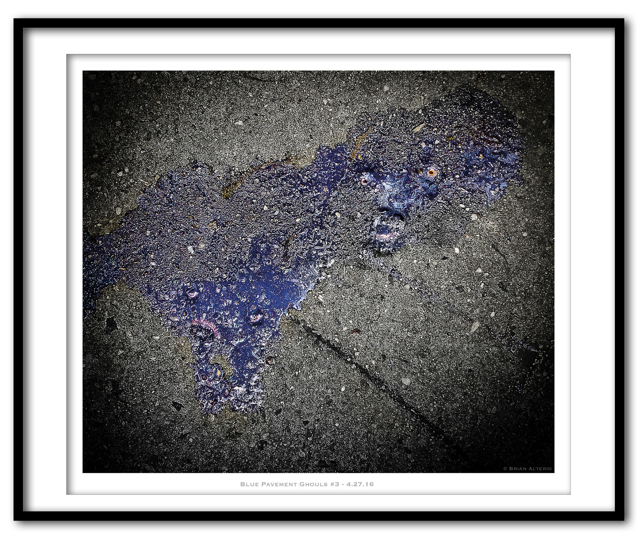 Blue Pavement Ghouls #3 - 4.27.16 - Framed.jpg