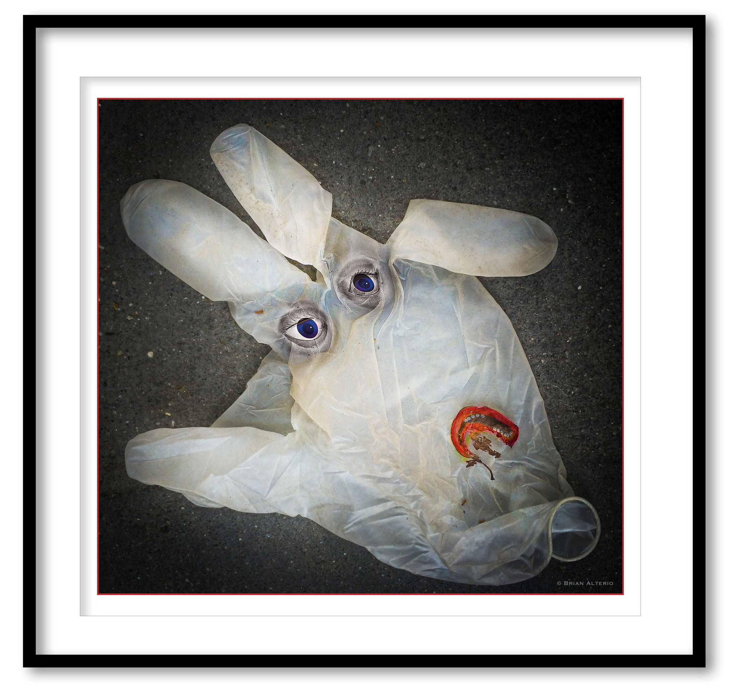 Sad White Rubber Glove Mystery #2 - 6.31.16 - Framed.jpg