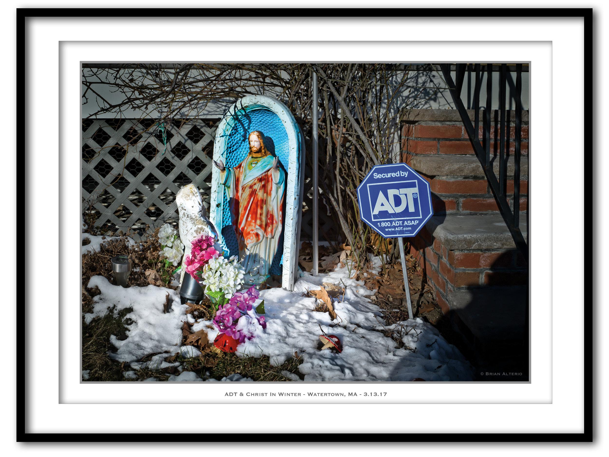 ADT & Christ In Winter - Watertown, MA - 3.13.17 - Framed.jpg