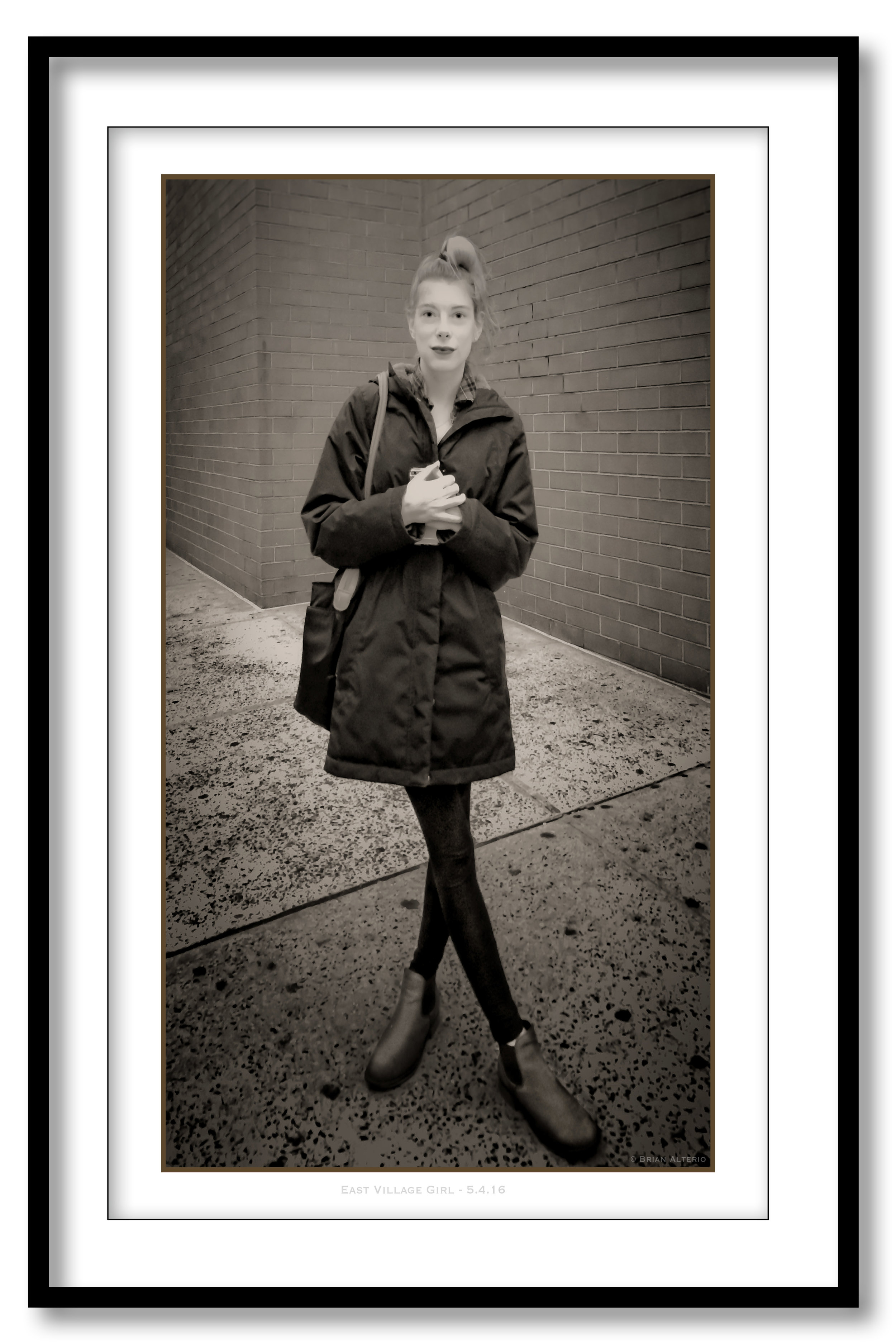 East Village Girl - 5.4.16 - Framed.jpg