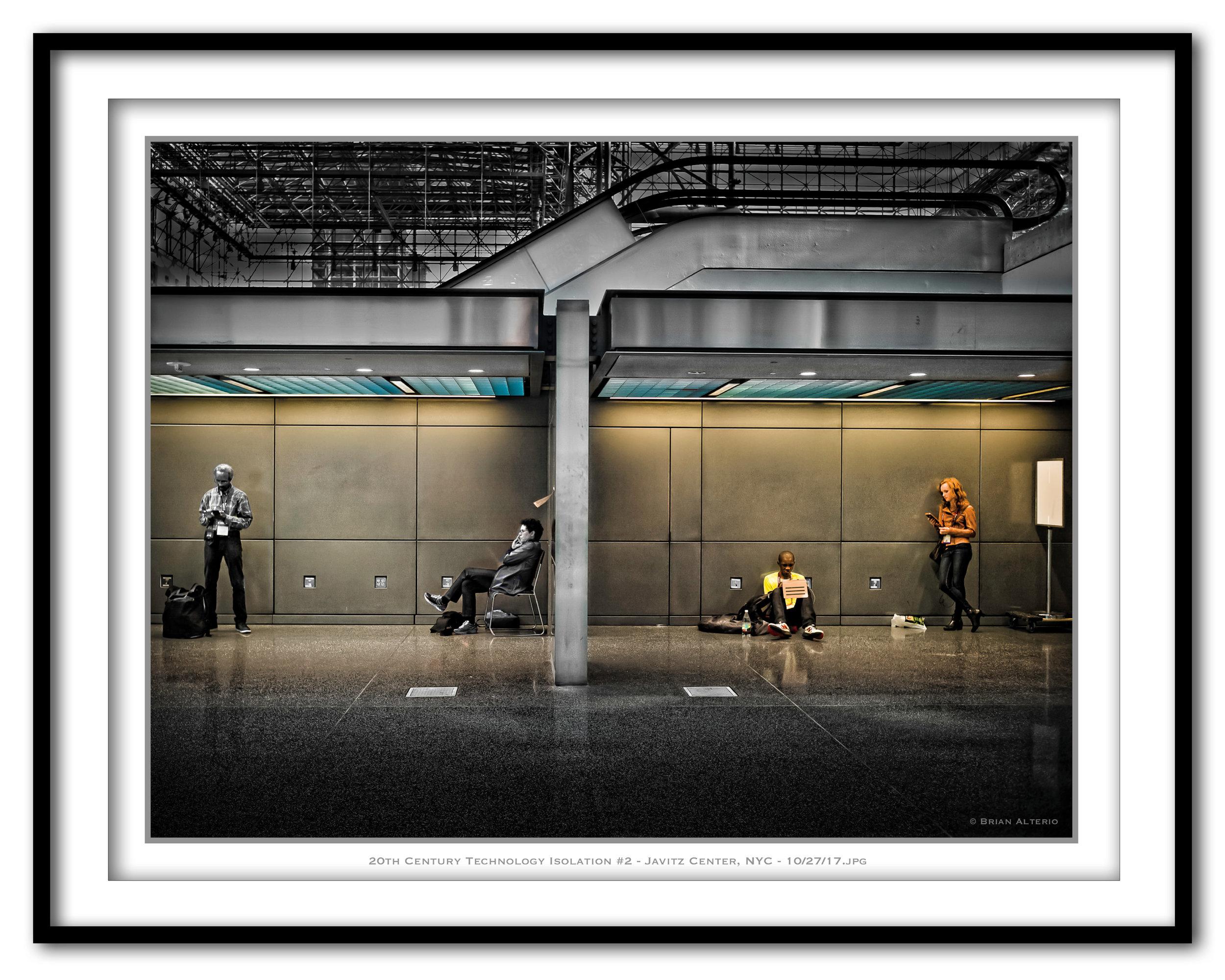 20th Century Technology Isolation #2 - Javitz Center, NYC - 10-27-17 -Framed.jpg