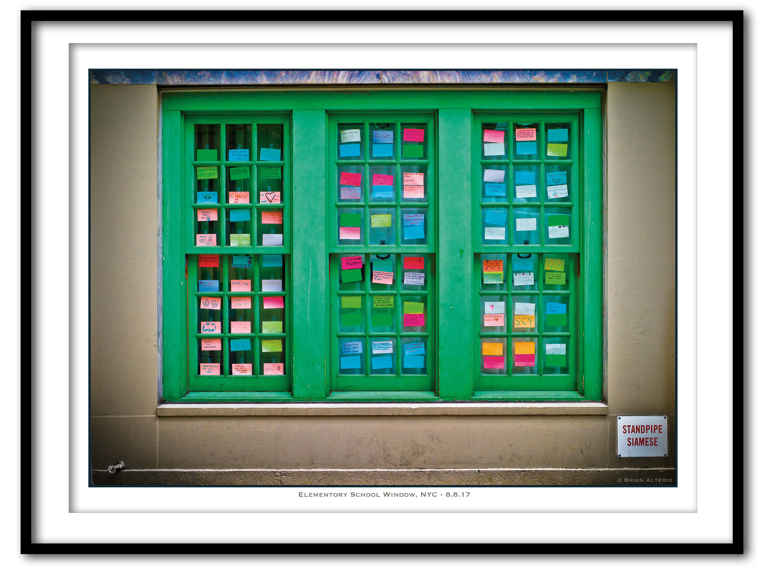 Elementory School Window, NYC - 8.8.17 - Framed.jpg