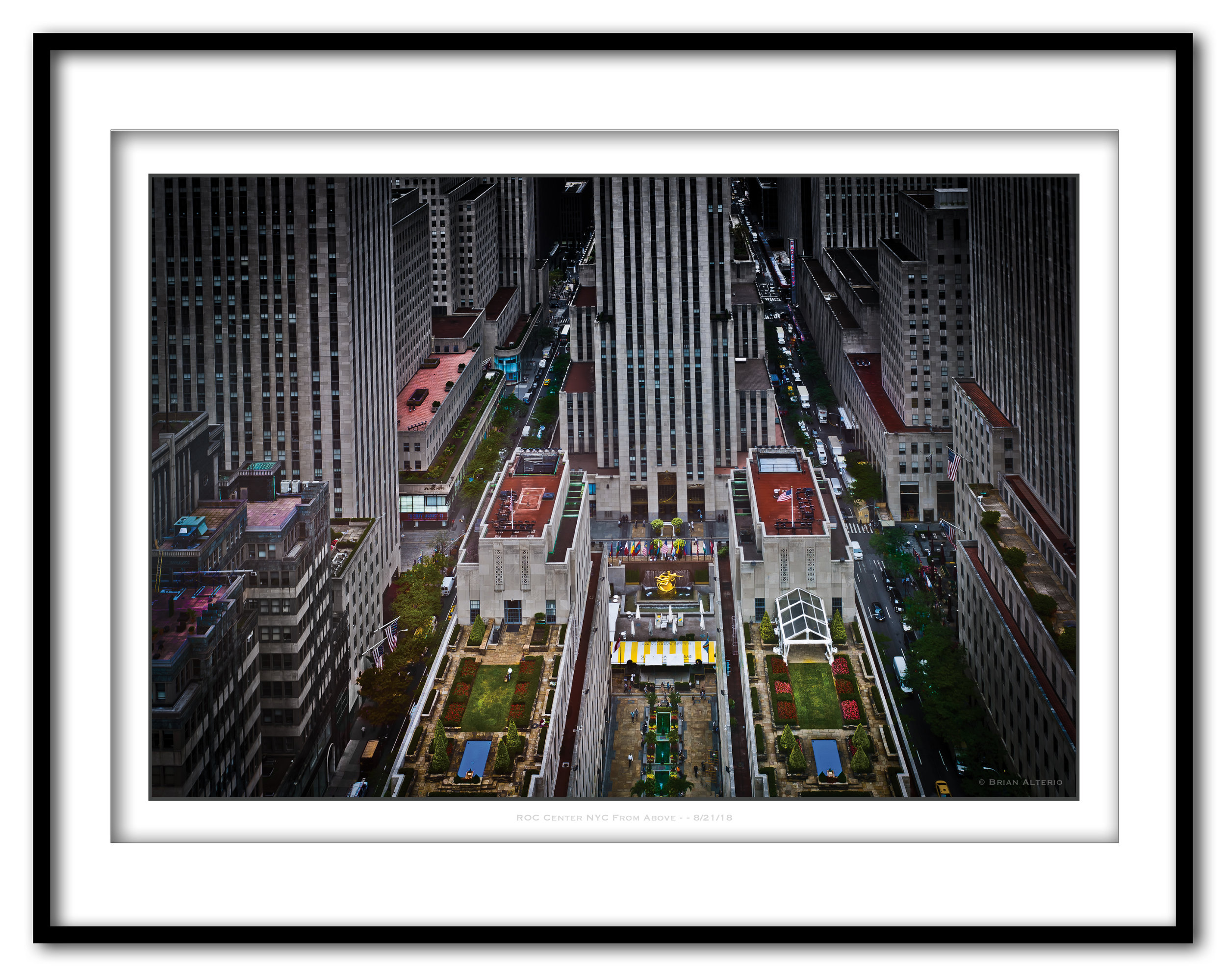 ROC Center NYC From Above - - 8-21-18 -Framed.jpg