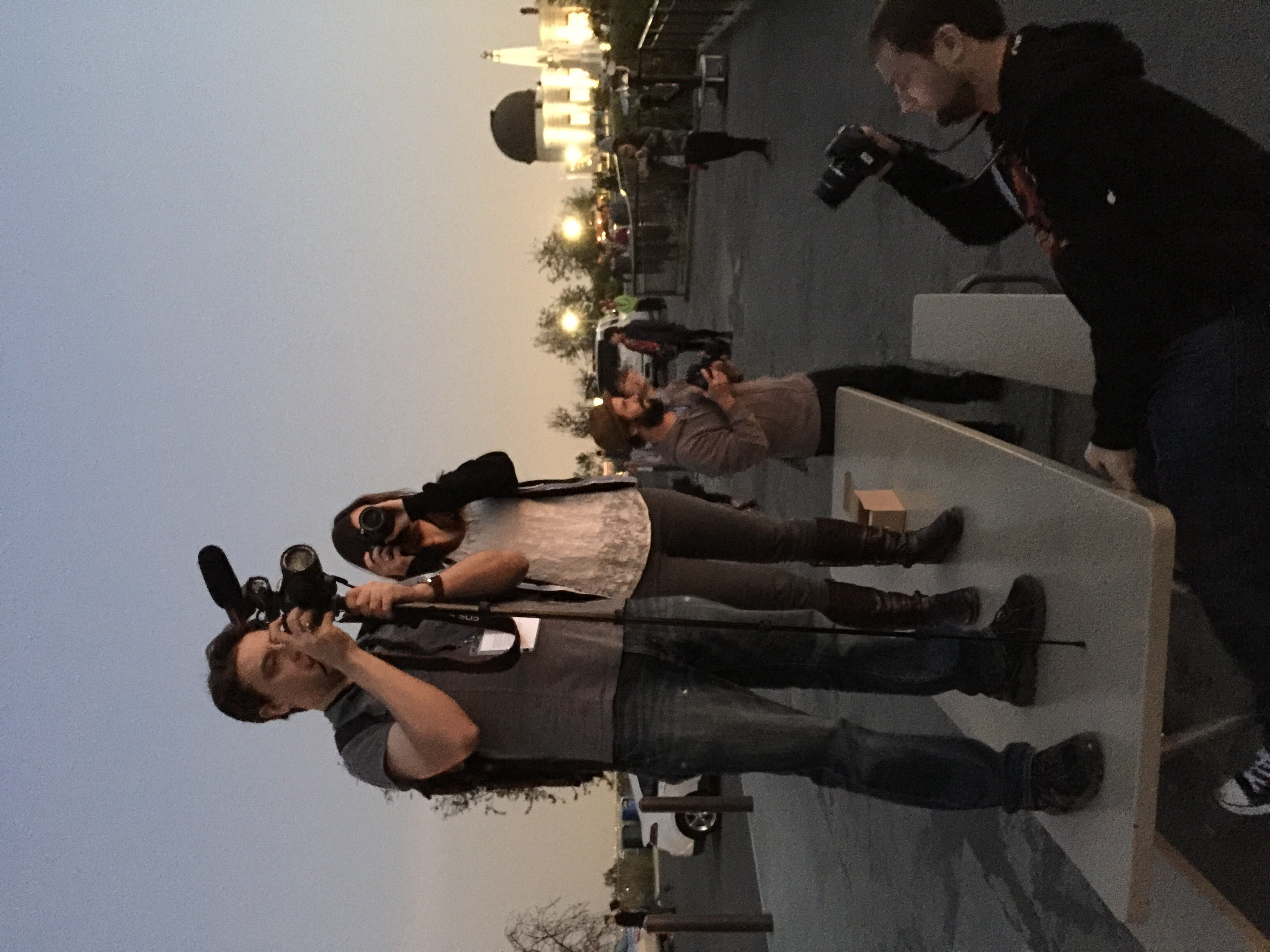 Always shooting, even at Griffith Observatory