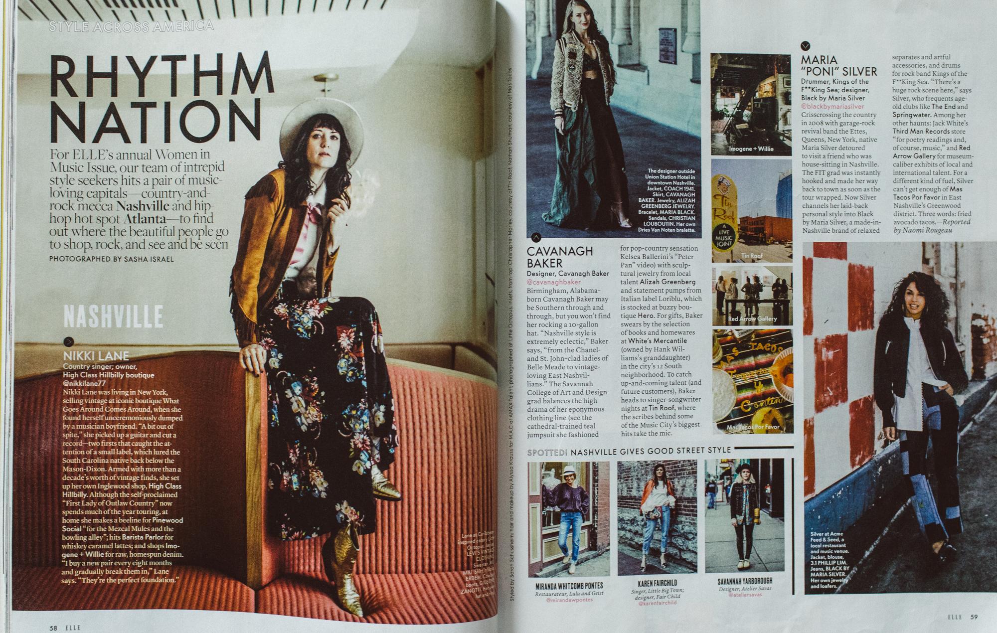 ELLE: JUNE 2017: Style Across America