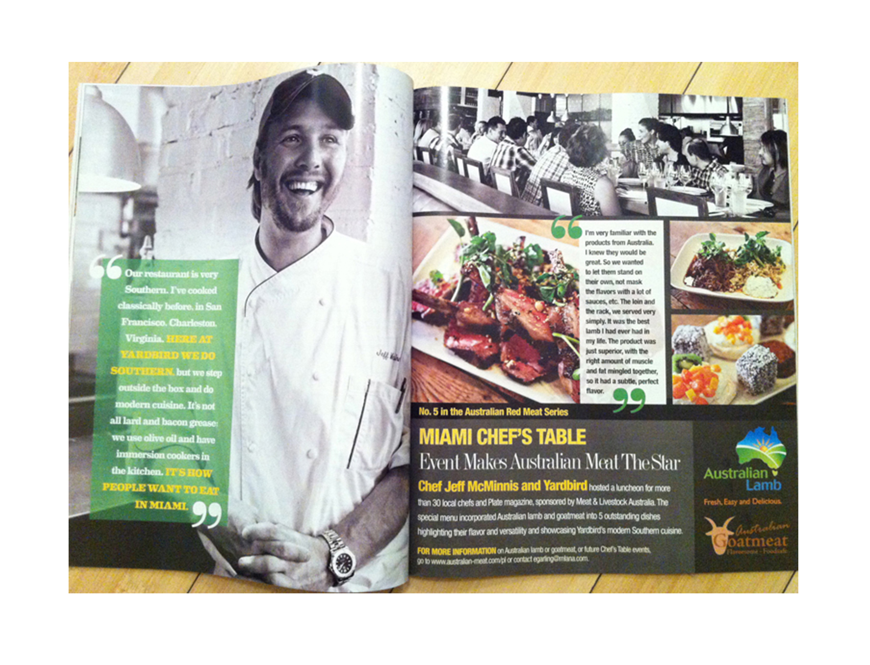 Yardbird - Plate Magazine - Aug / Sept 2013