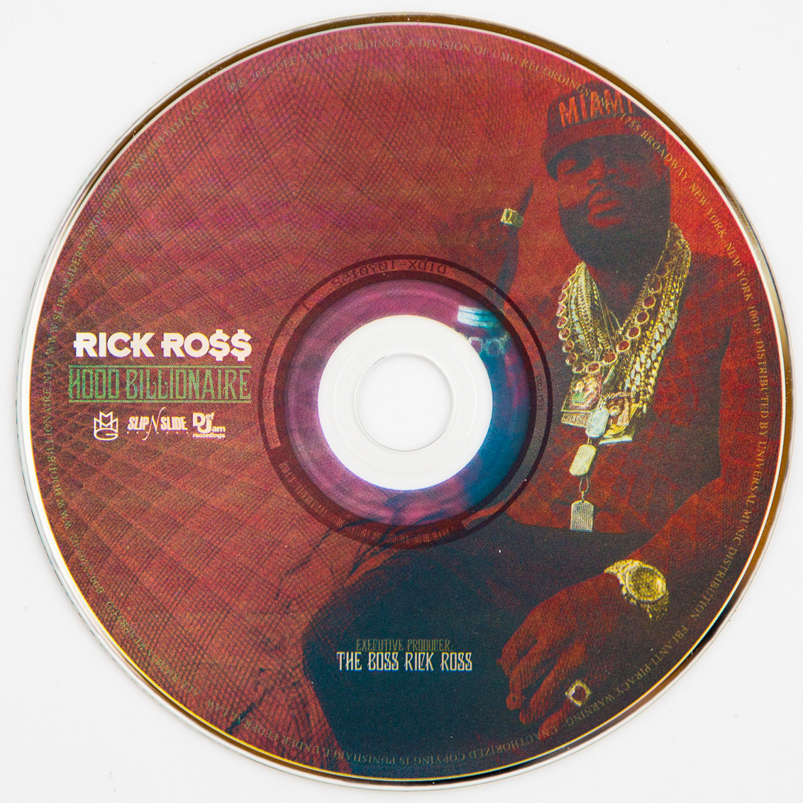 "Rick Ross - ""Hood Billionaire"" - CD"