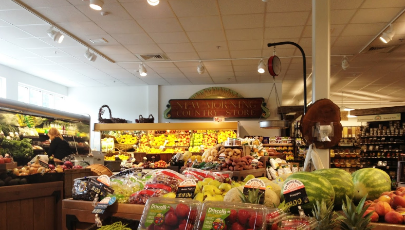 New Morning Market in Litchfield is the exclusive purveyor for Room To Grow's organic fruit, veggies, dairy, and dry goods.