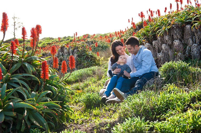 outdoor natural family portrait