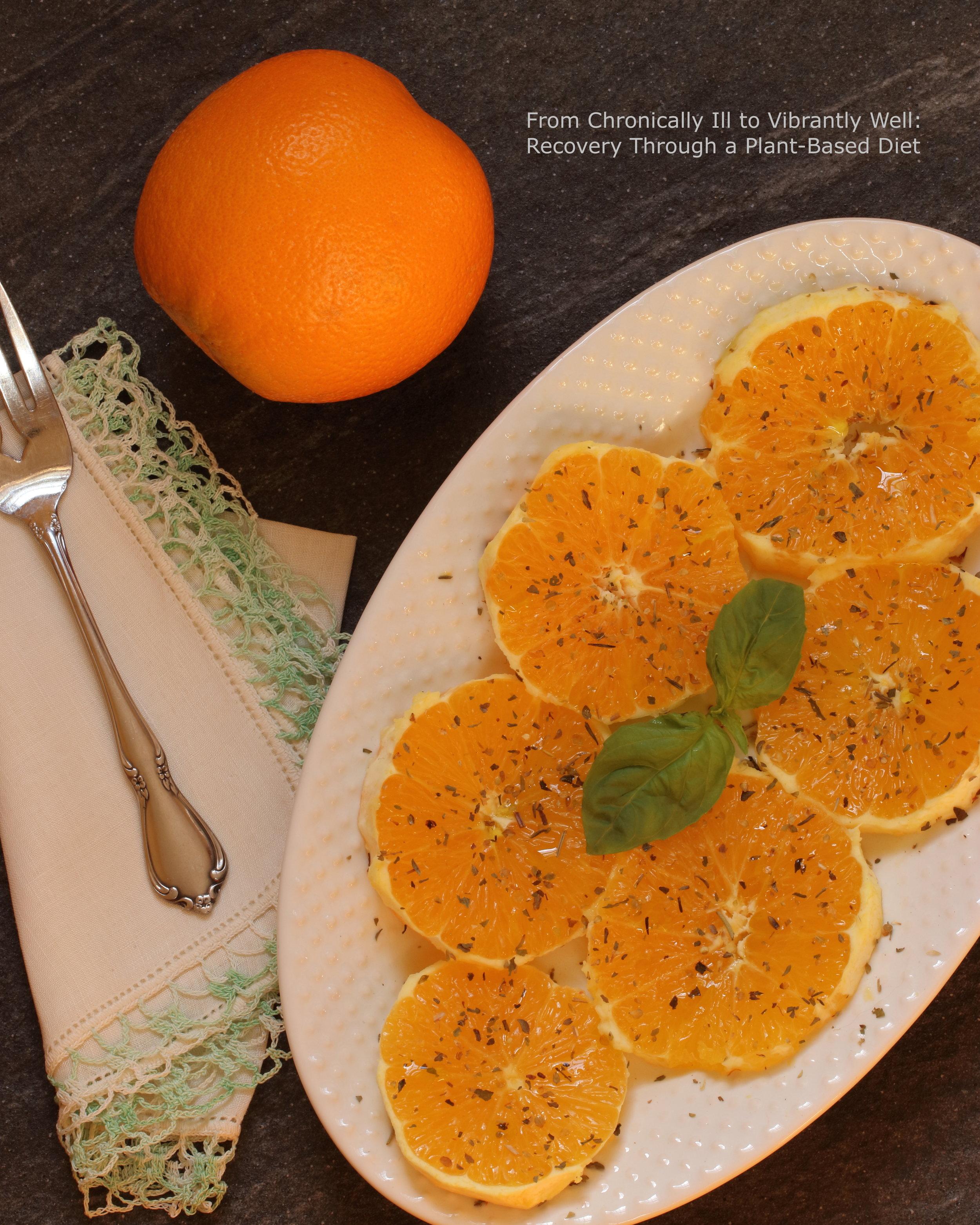 Ma Tante's Orange Salad