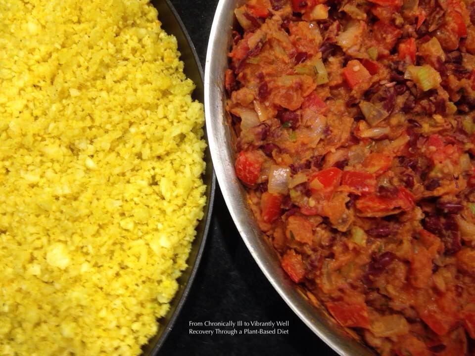 Red Beans and Cauliflower Rice.JPG