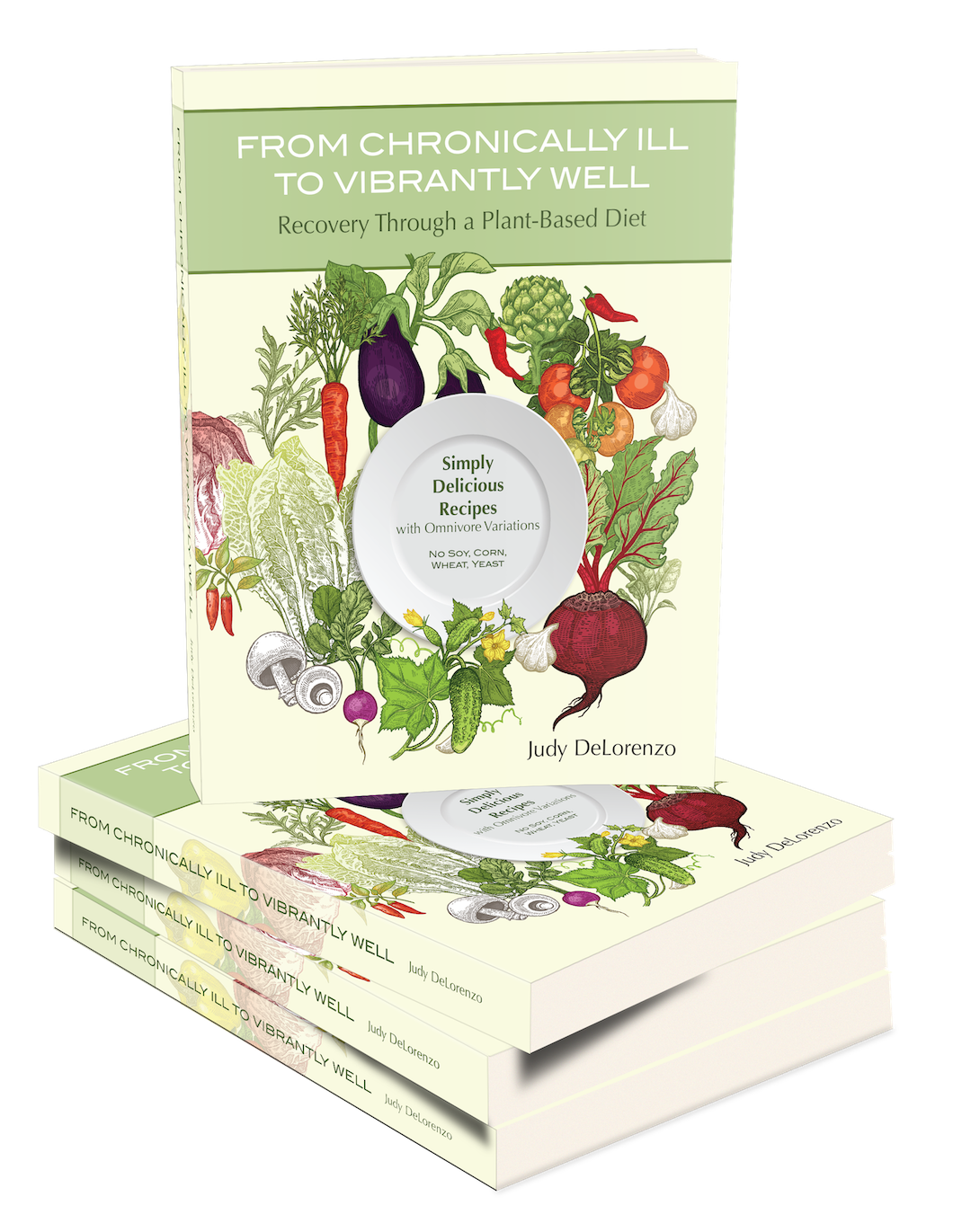 Judy's cookbook and healthy eating guide now available on Amazon