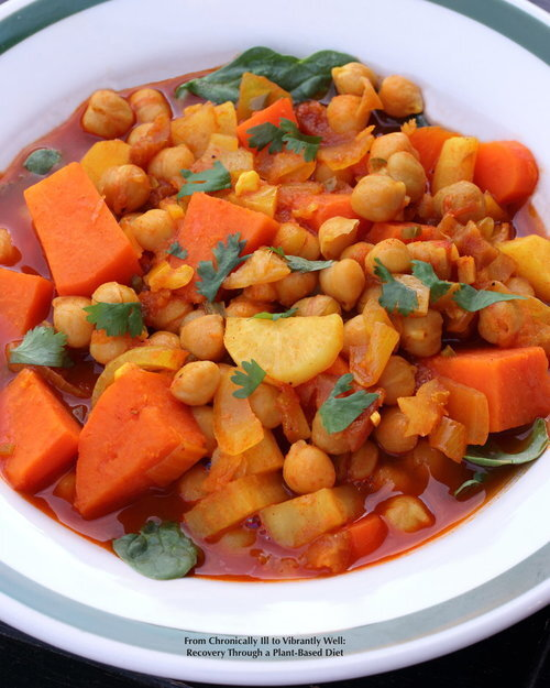 Moroccan Sweet and Spicy Stew
