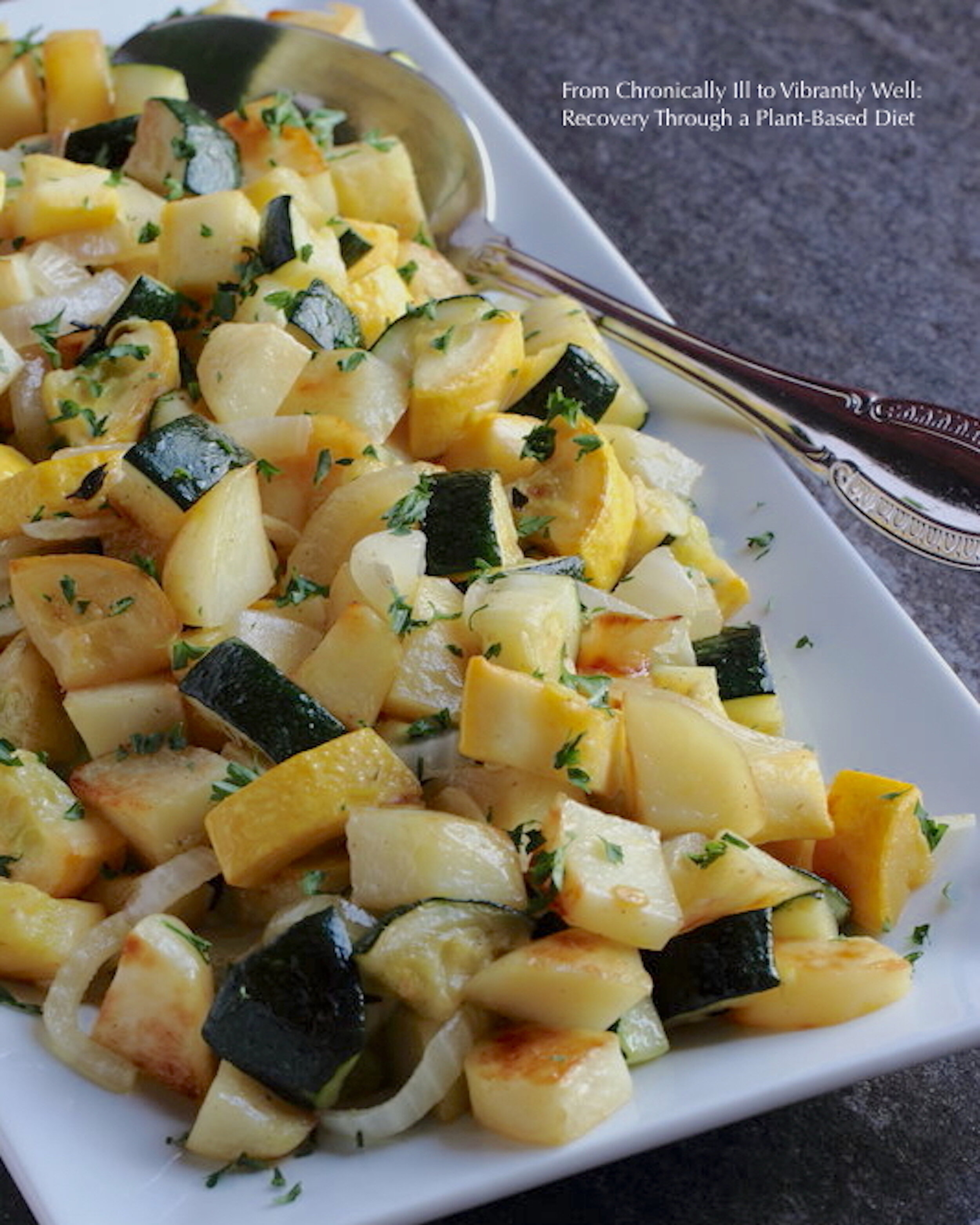 Summer Squash, Onions, and Potatoes
